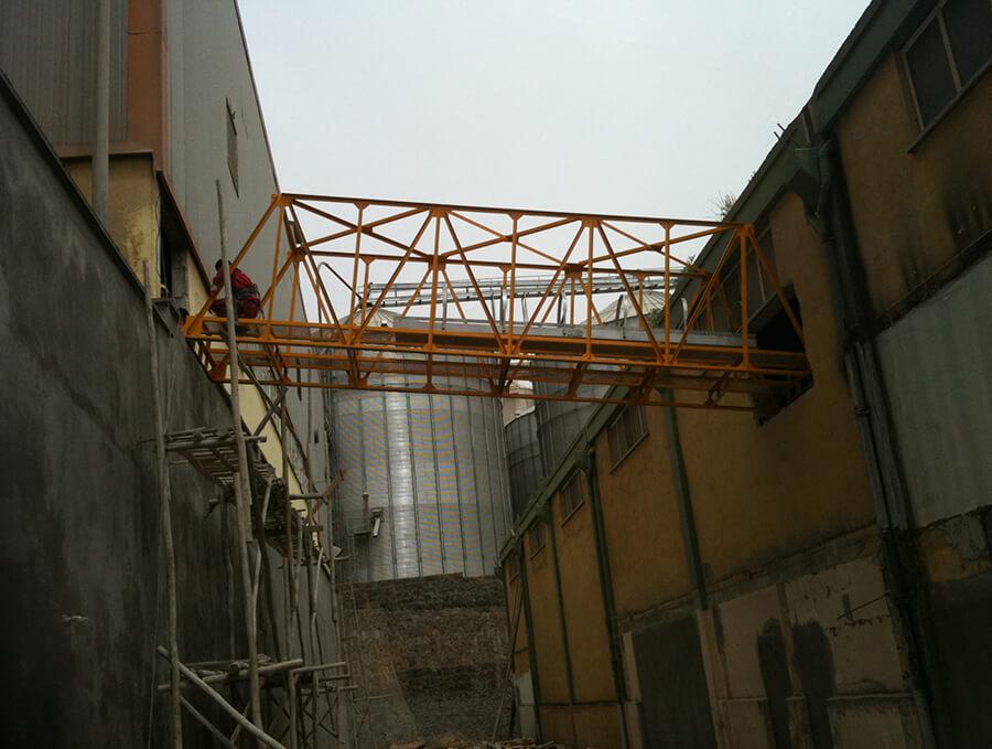 Steel Construction Bridge