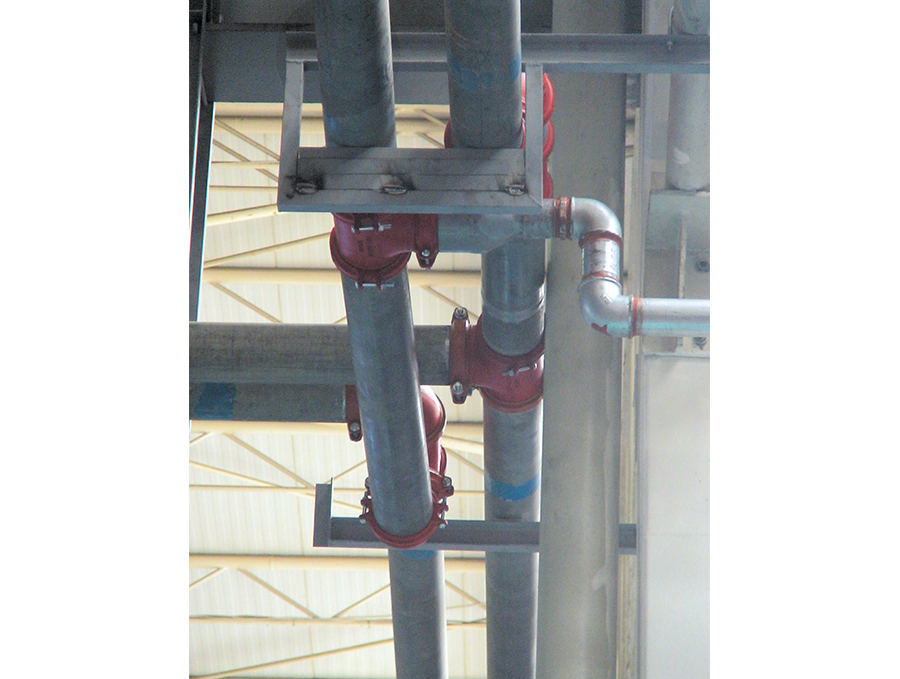 Coupling Connection Pipe Installation