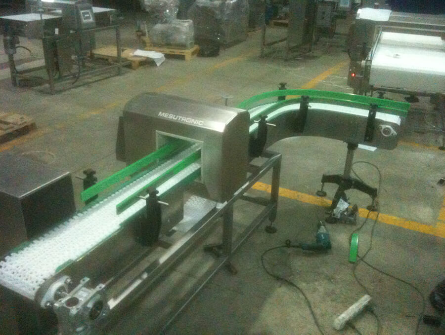 Modular Band Metal Detector Conveyor