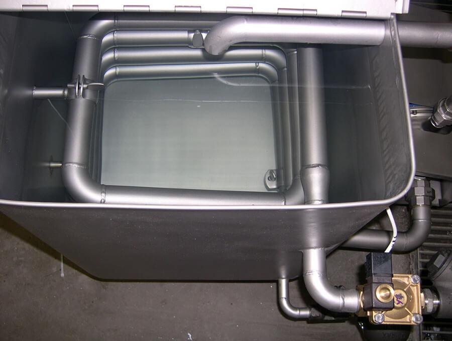 Water Heating boiler Serpentine