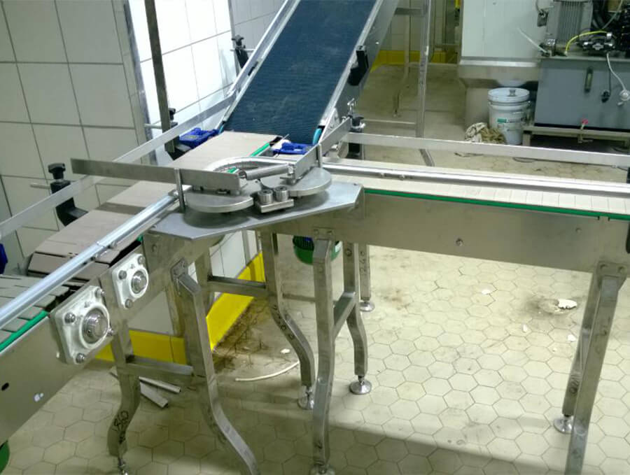 Product Transport Conveyor Traffic System